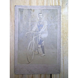 Foto Antigua 1917 Ciclista Corredor Megusta_melollevo