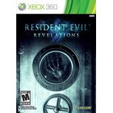 Resident Evil Revelations Xbox 360 Nuevo