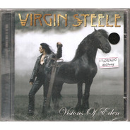 Cd Virgin Steele - Visions Of The Eden