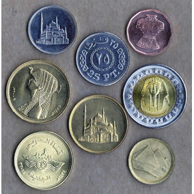 Egipto Sus Mas Hermosas Monedas, Lote X 8 Brillantes, Oferta