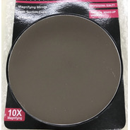 Espejo Aumento 10x Con Sopapas De Adhesion 13 Cm Diámetro