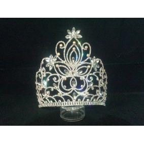Corona De Cristal, Corona Alta Para Reina