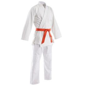 Judogi Tramado Con Pantalon De Gabardina De 9 Onzas