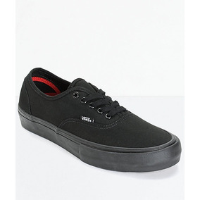 zapatillas vans authentic negras