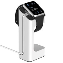 Stand Soporte Dock Apple Watch 38 Mm 42mm Blanco