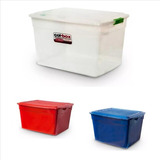 Caja Organizadora Colombraro Apilable 42lts Plastica