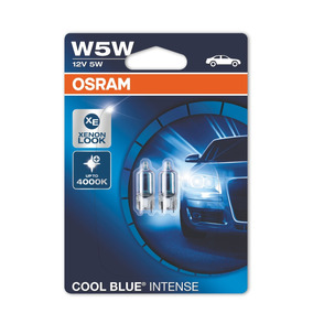 Par Lámparas Cool Blue Intense W5w T10 - Blancas