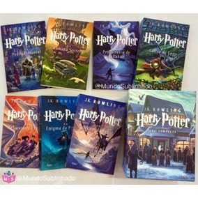 Coleção: Harry Potter - J. K. Rowling - 8 Livros