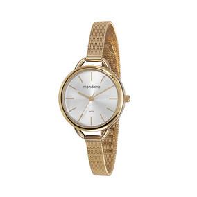7b88b8fa924 Relogio Mondaine Dourado Analogico 83117lpmndm1 Esportivo - Relógio ...