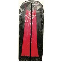 5 Capa Protetora Para Roupas Transparente 150cm X 60cm Tnt