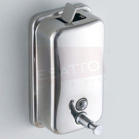 Esatto ® - Despachador De Jabón Líquido Acero 500 Ml Di-001