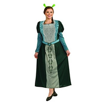 Disfraz Vestuario Fiona De Shrek De La Mujer De Rubie