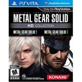 Juego Metal Gear Solid Hd Collection Para Ps Vita Fisico