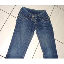 Calça Jeans Feminina Tam 36 C/strech Marca W Jeans Tt