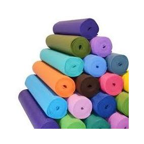 Colchoneta Mat Alfombra Para Yoga Pilates Goma Eva 6mm Color