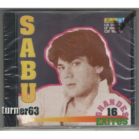 Cd *** Sabu *** 16 Grandes Exitos *** Original Imp Nuevo Sel