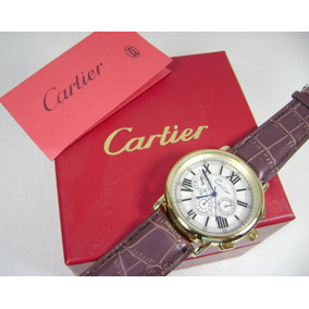 C A R T I E R . Reloj Acero / Piel Nuevo Lindo Cdb4