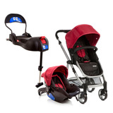 Travel System - Epic Light - Cherry E Base Para Bebê Confort