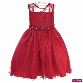 Vestido Festa Infantil Luxo Formatura Mônica Princesa Elena