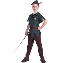 Disfraz De Peter Pan Para Niños, Envio Gratis