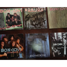 Bon Jovi Singles Vinil Made In Usa, Rarissimos!