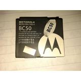 Batería Bc50 20%bonifico Bellcell Para Motorola Envío Pais