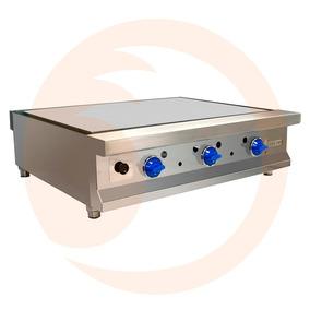 Plancha Industrial Cocina 90 Cms 3 Quemadores Pf36 San-son