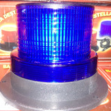Baliza Led Azul 12 Volts Intermitente P/ Vehiculos Policia
