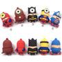 Memoria De Almacenamiento Usb 2.0 16gb Minions Superheroes