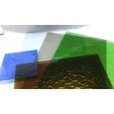 Vidrio Martele De Colores Vitraux 30x40cm Y 4mm De Espesor