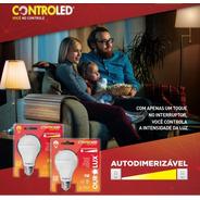 Lâmpada Led 9w Autodimerizavel - Ourolux - Com Apenas 1 Toque No Interruptor Você Faz A Dimerização / Não Precisa Dimmer