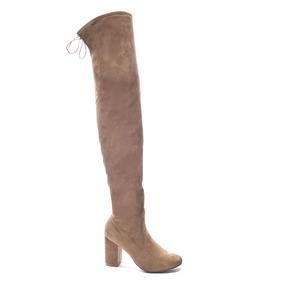 Zapato Dama Bota Kiara Camello B&b Chinese Laundry