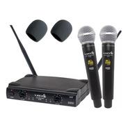 Microfone Lyco Uh08 Mm Uhf S/fio 52 Canais Tipo Vokal Vla42