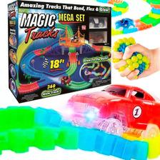 Pista Magic Tracks Flexible 360pcs + Autos + Regalo! El Rey