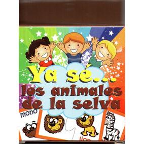 Juego Rompecabezas Didactico Ya Sé Los Animales De La Selva