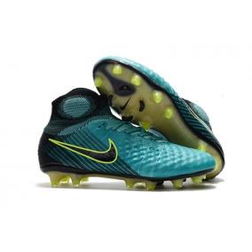 Chuteira Nike Magista Obra Li Fg - Chuteiras no Mercado Livre Brasil 095ce0a1db630