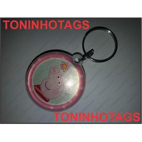 Promoção - Chaveiro Rfid Tag 125khz Peppa Pig - Contr. Aces.