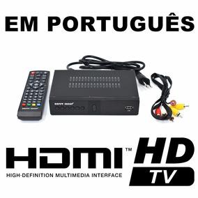 Conversor Tv Digital Receptor Box Função Gravador