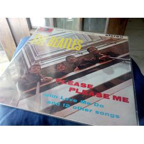 Lp Please Please Me - Edição Inglesa De Época - The Beatles