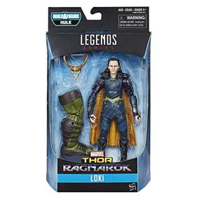 Marvel Legends Loki Thor Ragnarok Com Peça Baf Hulk Promoção