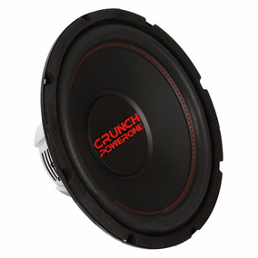 Subwoofer 12 Pol Crunch P1-12d2 Power One 350w Rms 2+2 Ohms