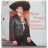 Placido Domingo Interpreta Canciones Mexicanas 1 Disco Lp
