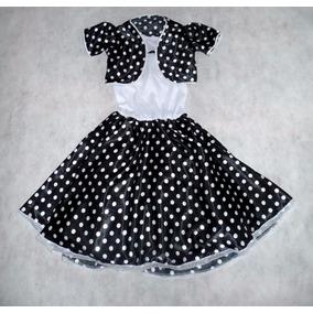 Vestido Anos 60 Infantil Sandrinha