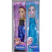 24 Bonecas Filme Frozen Elsa E Anna Disney Atacado E Varejo