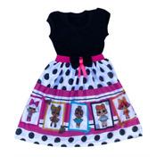 Roupa Boneca Lol Surprise Fantasia/vestido