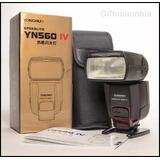 Flash Yongnuo 560iv Speedlite Canon Nikon Filtros+ Difusores
