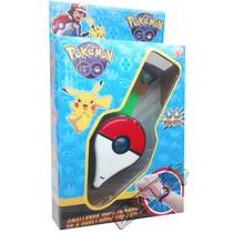 Relógio Infantil Pokemon Go Brinquedo - Horas, Luz E Som