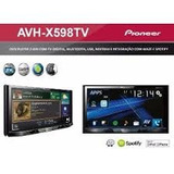 Dvd Player Pioneer Avh-x598tv Fox 2010 Ate 2013
