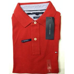 Camiseta Tommy Hilfiger Tipo Polo 100% Original Talla Xxl