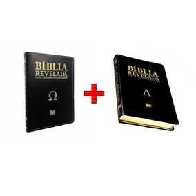 Kit Bíblia Revelada Di Nelson Alpha At + Ômega Nt Frete Grát